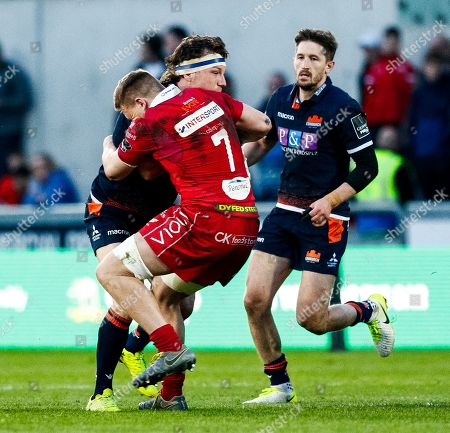 Editorial photo of Guinness PRO14, Parc y Scarlets, Llanelli, Wales  - 06 Apr 2019