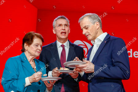 Editorial image of Labour Party convention in Oslo, Norway - 06 Apr 2019