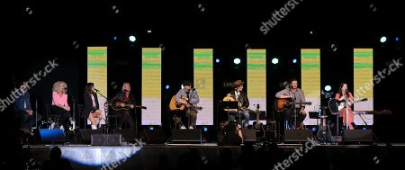 Jimi Westbrook, Kimberly Schlapman, Karen Fairchild, Phillip Sweet of Little Big Town, Luke Laird, Ross Copperman, Chase McGill, Lori McKenna