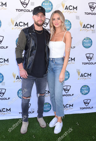 Chris Lane and Lauren Bushnell