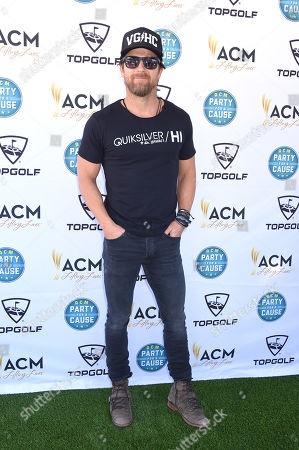 Editorial picture of ACM Lifting Lives TopGolf Tee-Off, Arrivals, Las Vegas, USA - 06 Apr 2019