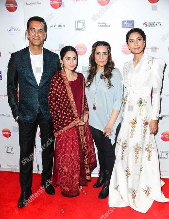 Adnan Jaffar, Kiran Malik, Hajra Yamin and Shazia Khan