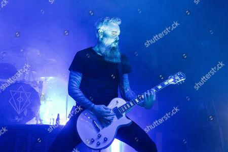 Editorial image of In Flames in concert at O2 Ritz, Manchester, UK - 04 Apr 2019