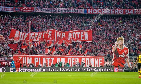 06.04.2019, Football 1. Bundesliga 2018/2019, 28.  match day, FC Bayern Muenchen - Borussia Dortmund, in Allianz-Arena Muenchen.  Stefan Effenberg.