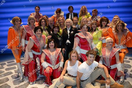 Editorial picture of 'Mamma Mia!' 20th Birthday Show, Novello Theatre, London, UK - 06 Apr 2019