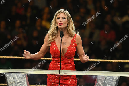 Editorial photo of 2019 WWE Hall Of Fame Ceremony, New York City, USA - 06 Apr 2019