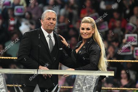 Bret Hart and Natalya Neidhart