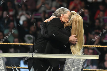 Editorial image of 2019 WWE Hall Of Fame Ceremony, New York City, USA - 06 Apr 2019
