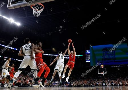 Editorial picture of Final Four Texas Tech Michigan St Basketball - 06 Apr 2019