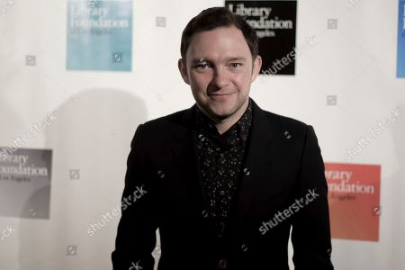 Nate Corddry attends 2019 Young Literati Toast at City Market, in Los Angeles