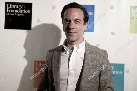 B. J. Novak attends 2019 Young Literati Toast at City Market, in Los Angeles