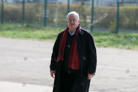 Stock Image of Martin Winterkorn kommt an Allianz Arena an, FC Bayern Muenchen vs. Borussia Dortmund, Football, 1.Bundesliga, 06.04.2019, DFB regulations prohibit any use of photographs as image sequences and/or quasi-video