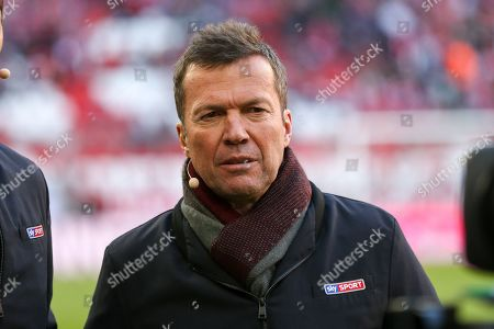 Stock Image of Lothar Matthaeus, FC Bayern Muenchen vs. Borussia Dortmund, Football, 1.Bundesliga, 06.04.2019,