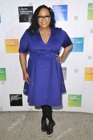 Natasha Rothwell attends 2019 Young Literati Toast at City Market, in Los Angeles