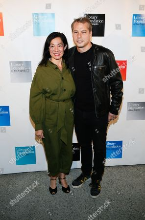 Editorial picture of Young Literati Toast to benefit LA Public Library, Arrivals, Los Angeles, USA - 06 Apr 2019