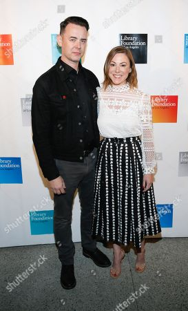 Colin Hanks and Samantha Bryant