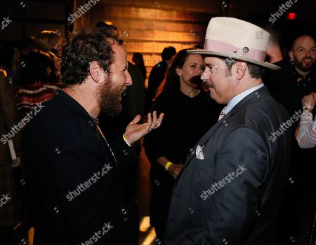 Stock Picture of Ben Lee and Paul F. Tompkins