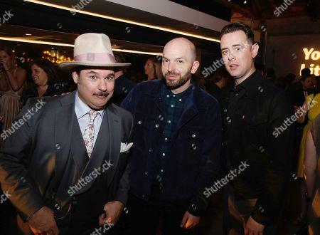 Paul F. Tompkins, Paul Scheer and Colin Hanks