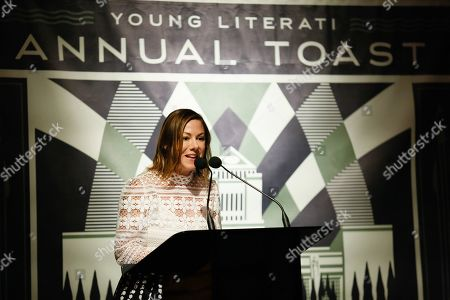 Editorial picture of Young Literati Toast to benefit LA Public Library, Inside, Los Angeles, USA - 06 Apr 2019