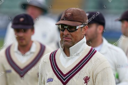 Marcus Trescothick of Somerset during the Specsavers County Champ Div 1 match between Somerset County Cricket Club and Kent County Cricket Club at the Cooper Associates County Ground, Taunton