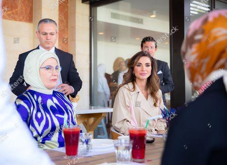 Editorial picture of Jordan River Foundation Showroom, Amman, Jordan - 06 Apr 2019