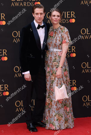 Stock Photo of Arthur Darvill and Ines De Clercq