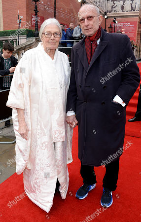 Stock Picture of Vanessa Redgrave and Martin Sherman