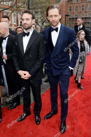 Charlie Cox and Tom Hiddleston