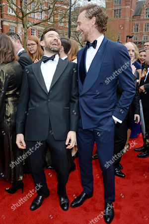 Charlie Cox and the Tom Hiddleston