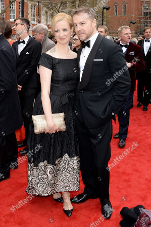Stock Picture of Laura Wade and Samuel West