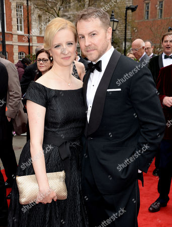 Stock Image of Laura Wade and Samuel West