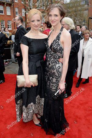 Stock Picture of Laura Wade and Tamara Harvey