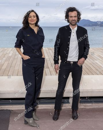 Cathy Verney and Romain Duris