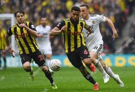Editorial picture of Watford vs Wolverhampton Wanderers, London, United Kingdom - 07 Apr 2019