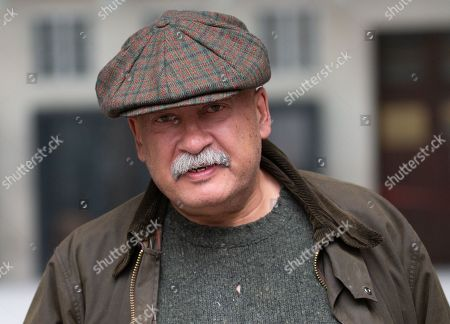 Deputy Political Editor of the BBC, John Pienaar, leaves the BBC Studios.