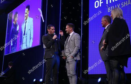 EFL Awards 2019 - Presenter Colin Murray talks to Billy Sharp