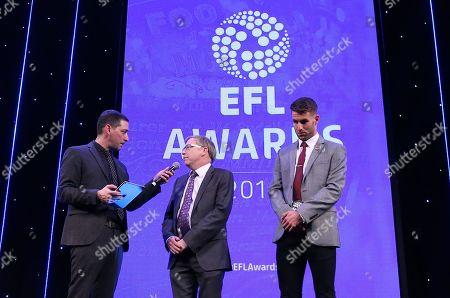 EFL Awards 2019 - Presenter Colin Murray speaks to MIND CEO Paul Farmer