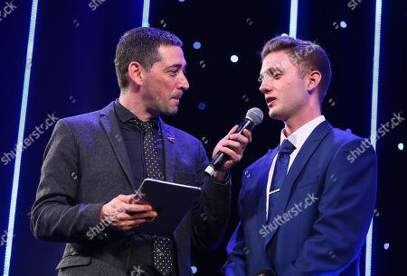 EFL Awards 2019 - Colin Murray talks to CEFA Male Player of the Season Harvey Hughes
