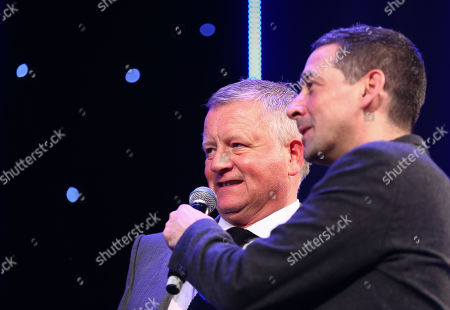 EFL Awards 2019 - Colin Murray talks with Sheffield United Manager Chris Wilder
