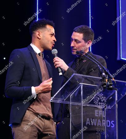 EFL Awards 2019 - Colin Murray talks with Liam Rosenior