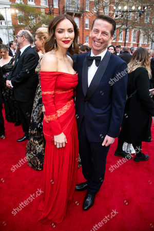 Jack McBrayer and Katharine McPhee