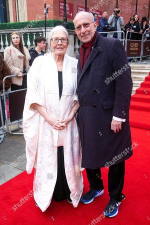 Stock Photo of Vanessa Redgrave and Martin Sherman