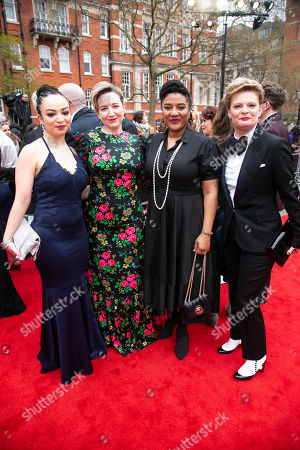 Lynette Linton, Josie Rourke, Lynn Nottage and Martha Plimpton