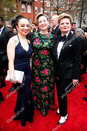 Lynette Linton, Josie Rourke and Martha Plimpton