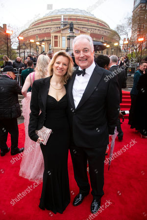 Stock Image of Francesca Carter and Clive Carter