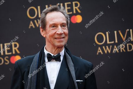 Jonathan Hyde arrives at the Olivier Awards at the Royal Albert Hall in London, Britain, 07 April 2019. The Olivier Awards are awarded for outstanding achievements in British theatre.