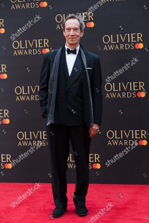 Stock Image of Jonathan Hyde arrives at the Olivier Awards at the Royal Albert Hall in London, Britain, 07 April 2019. The Olivier Awards are awarded for outstanding achievements in British theatre.