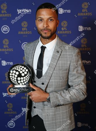 Stock Photo of EFL Awards 2019  - Sir Tom Finney Award winner Joe Thompson