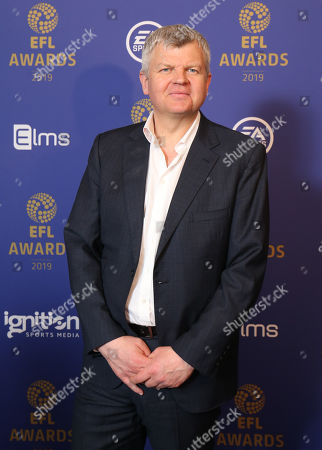 Adrian Chiles at the EFL Awards 2019