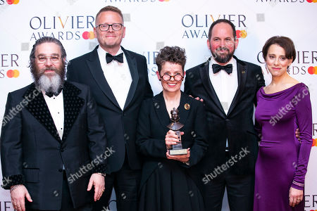 Editorial image of The Olivier Awards, Press Room, Royal Albert Hall, London, UK - 07 Apr 2019